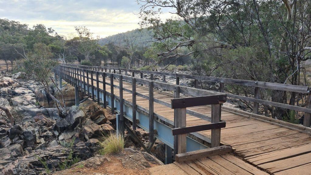 Bridge Over Swan River Bells Rapids 1