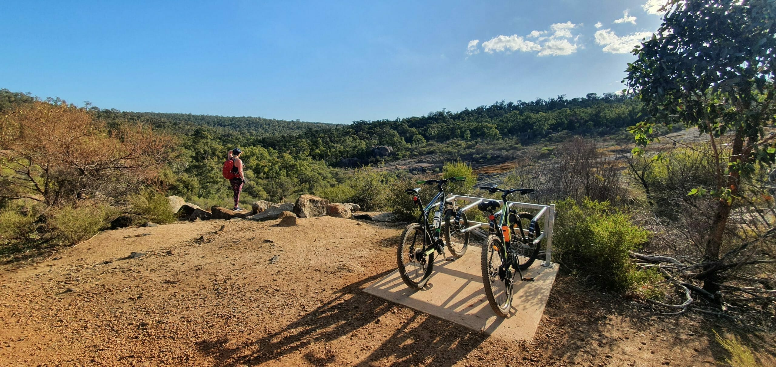 Hovea Falls Heritage Trail Mountain Biking