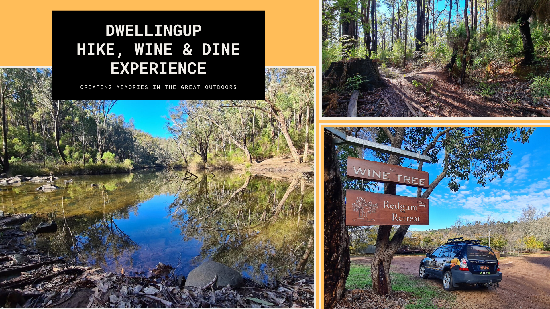 Dwellingup Hike Wine Dine Experience Web Event Cover