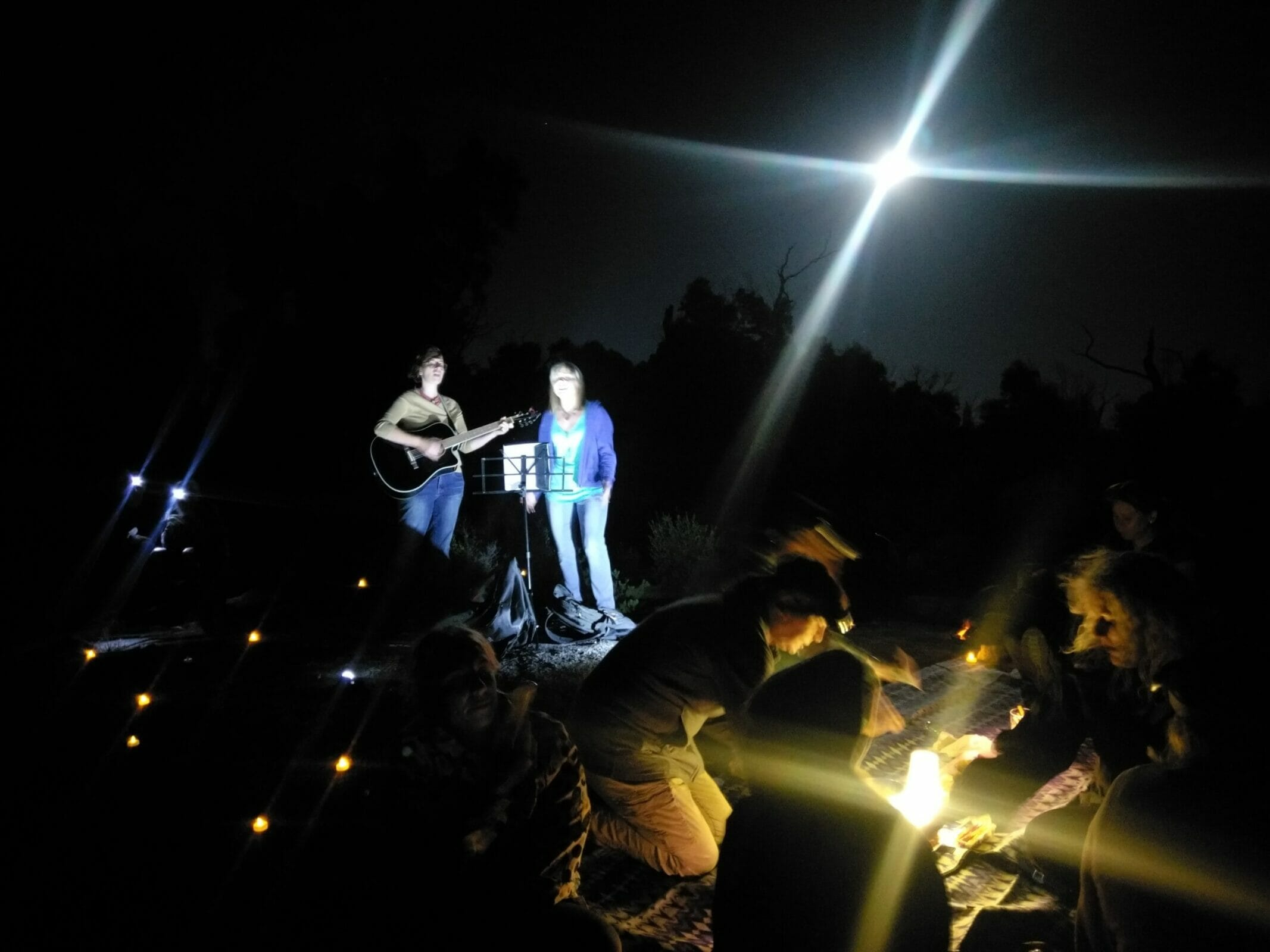 Acoustic Moon Hiking Experience