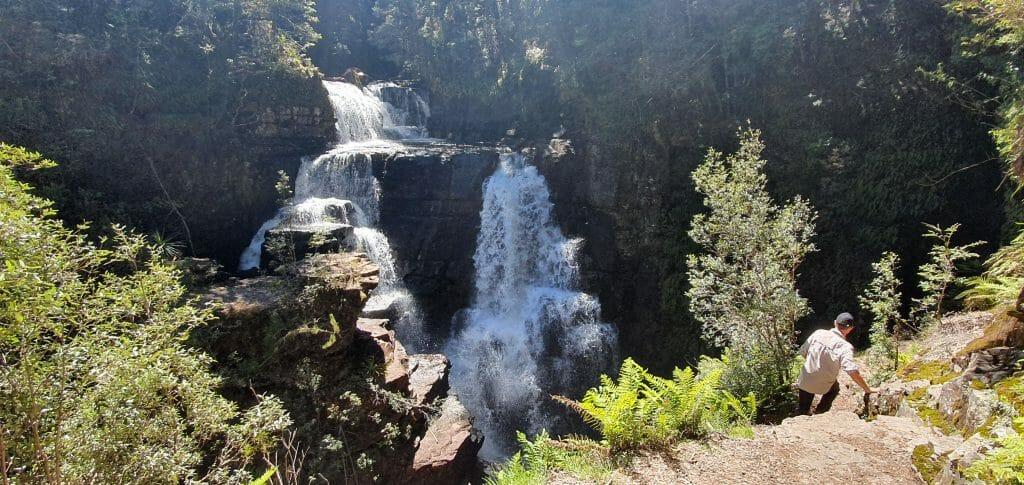 waterfalls overland track