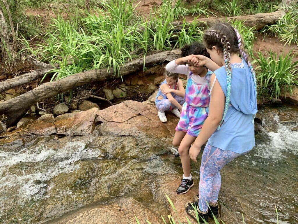 Kids exploring Mummy Me