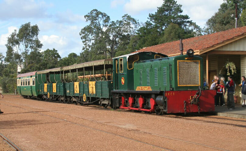 Dwellingup Trains, Trails & Woodfired Delights