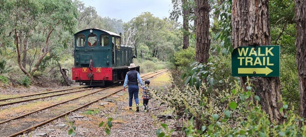 Dwellingup train