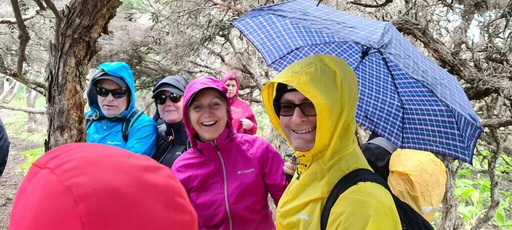 hiking in the rain 4