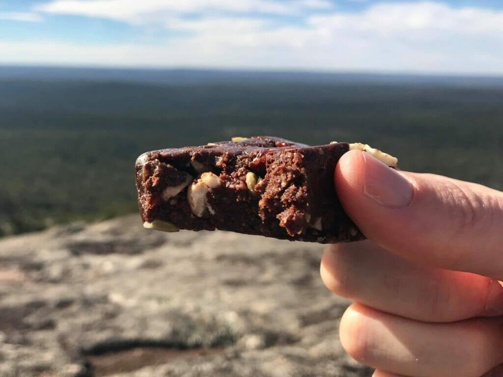 chocolate brownies trail snacks